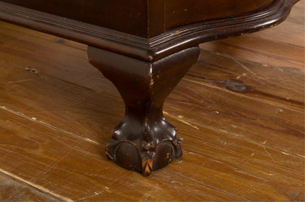 Mahogany Chippendale Style Slant Front Desk - 9