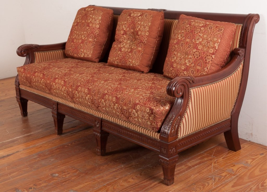 Najarian Furniture Empire Style Sofa