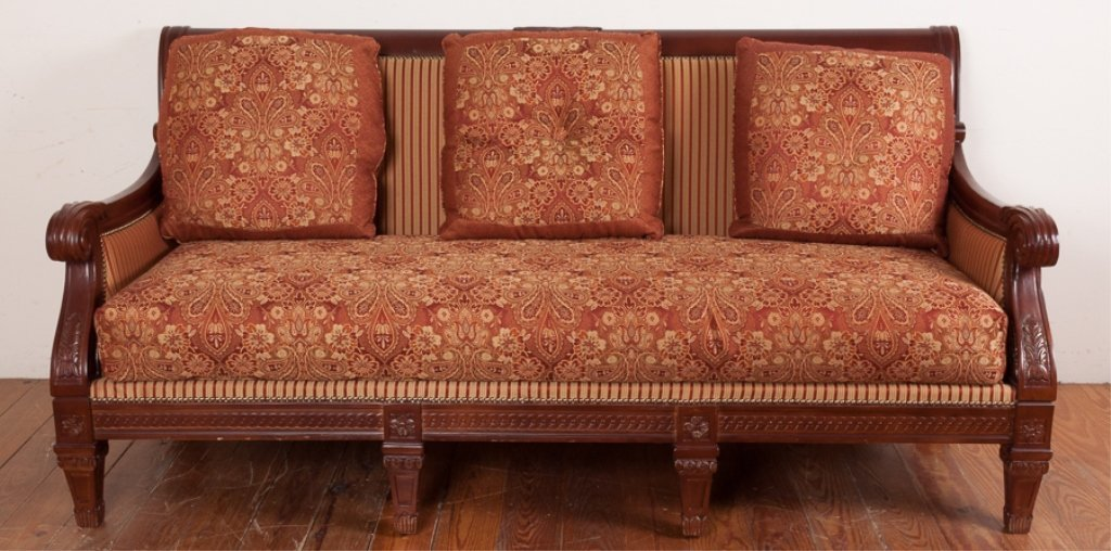 Najarian Furniture Empire Style Sofa - 3