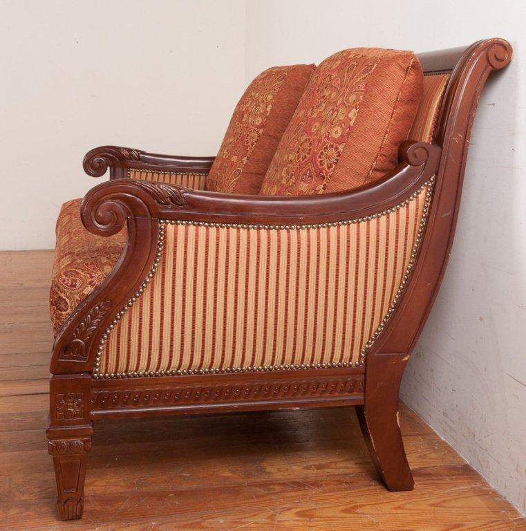 Najarian Furniture Empire Style Loveseat - 2