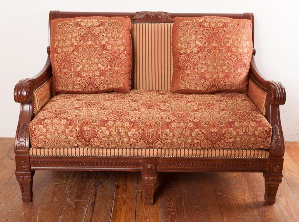 Najarian Furniture Empire Style Loveseat - 3