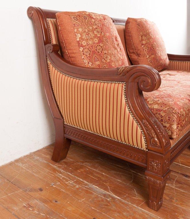 Najarian Furniture Empire Style Loveseat - 4