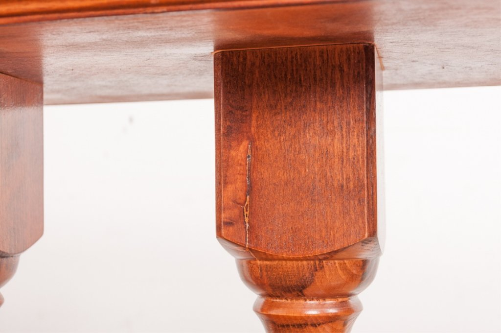 Columned Banister Style Console Table - 8
