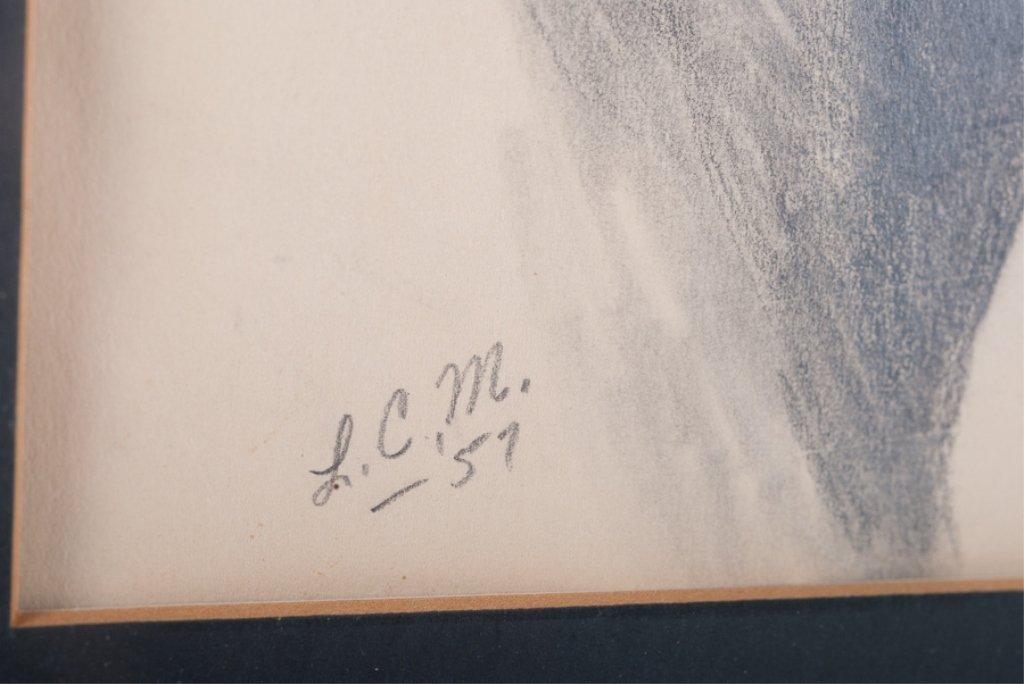 Lois Church Equestrian Drawings, Three (3) - 8