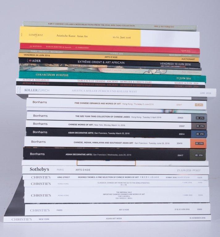 Various Auction Catalogs, Twenty Seven (27)