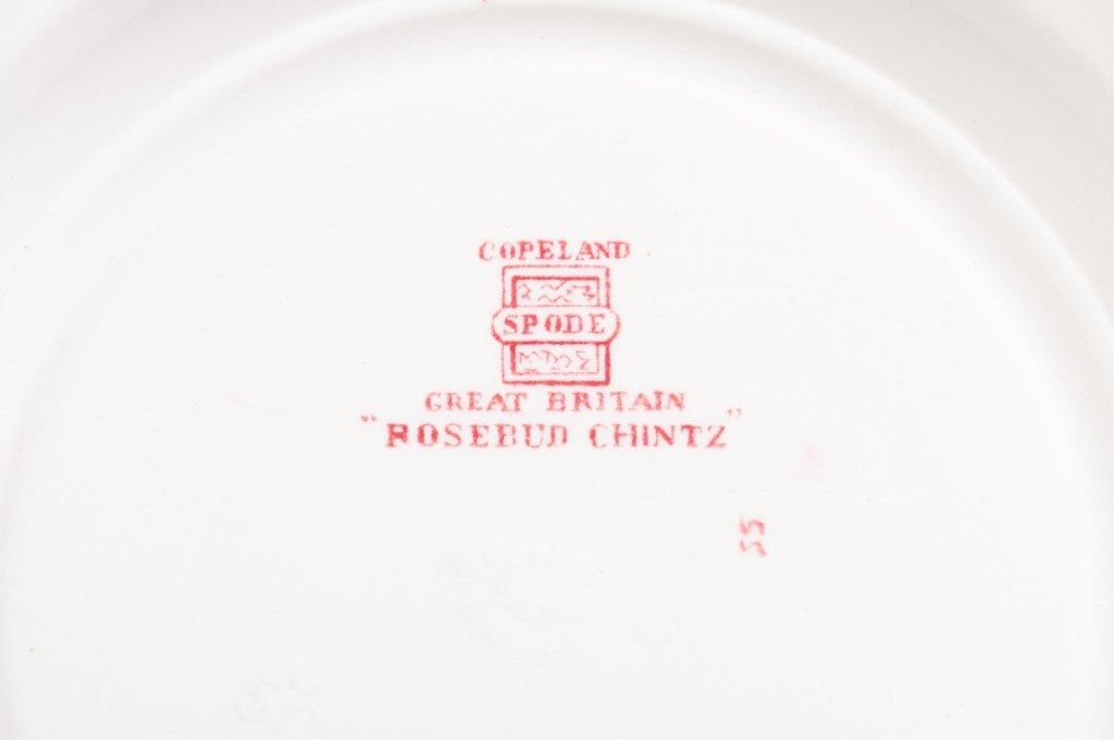 "Spode ""Rosebud Chintz"" China, Sixty Seven (67) - 8"