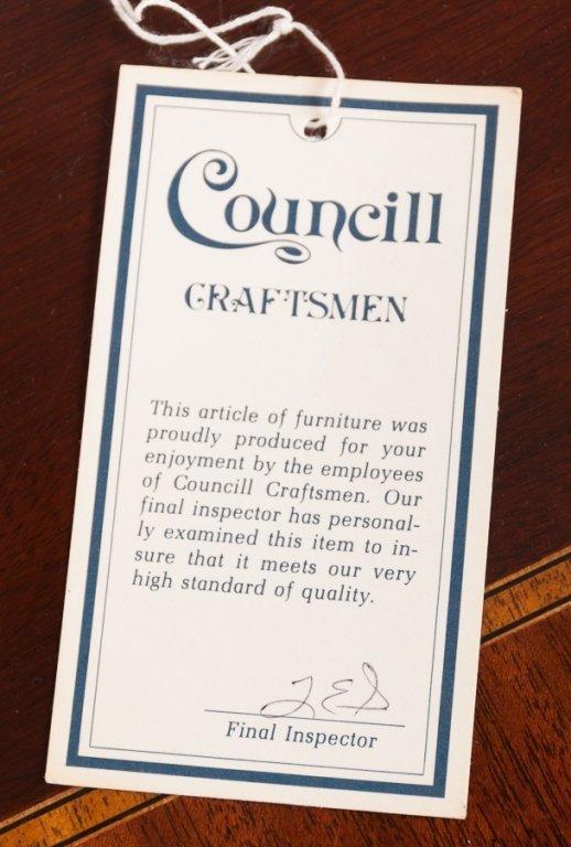 Councill Craftsman Mahogany Block Front Sideboard - 8