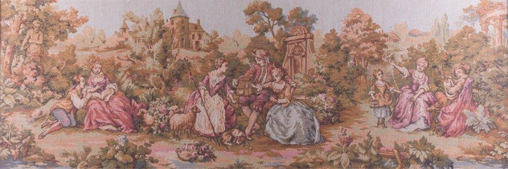 Jean-Antoine Watteau Inspired Tapestry