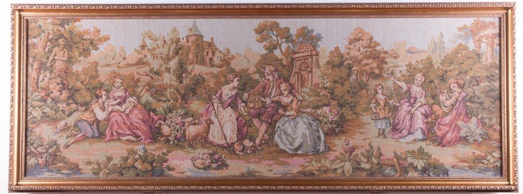 Jean-Antoine Watteau Inspired Tapestry - 2
