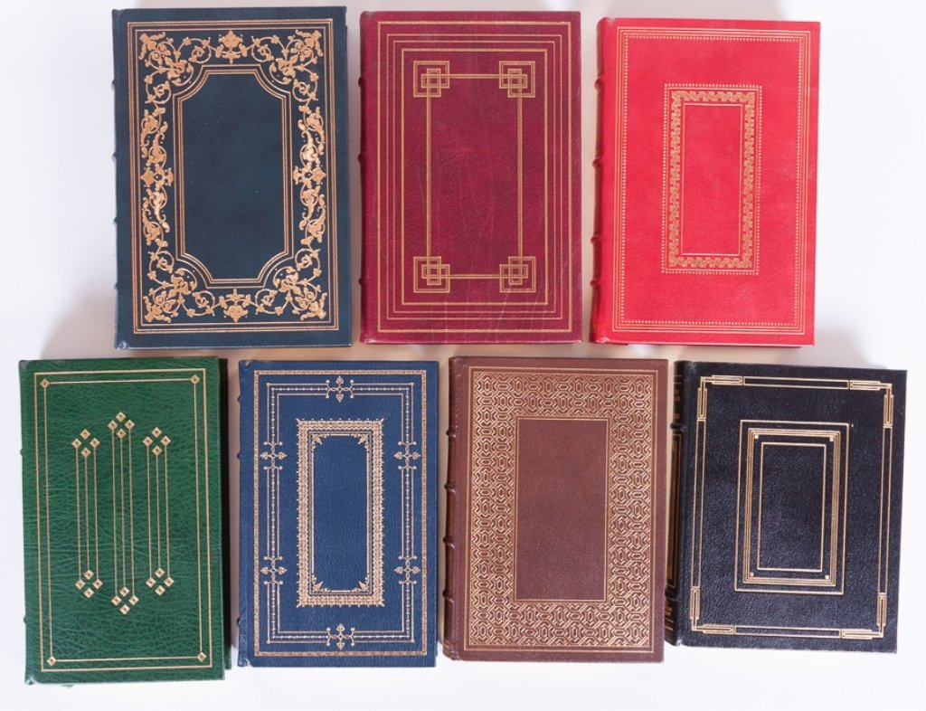 Franklin Library Leather Bound Books, Seven (7) - 2