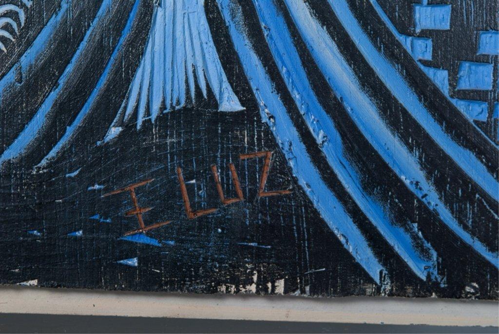 Edison Benicio da Luz Woodblock Carving - 4