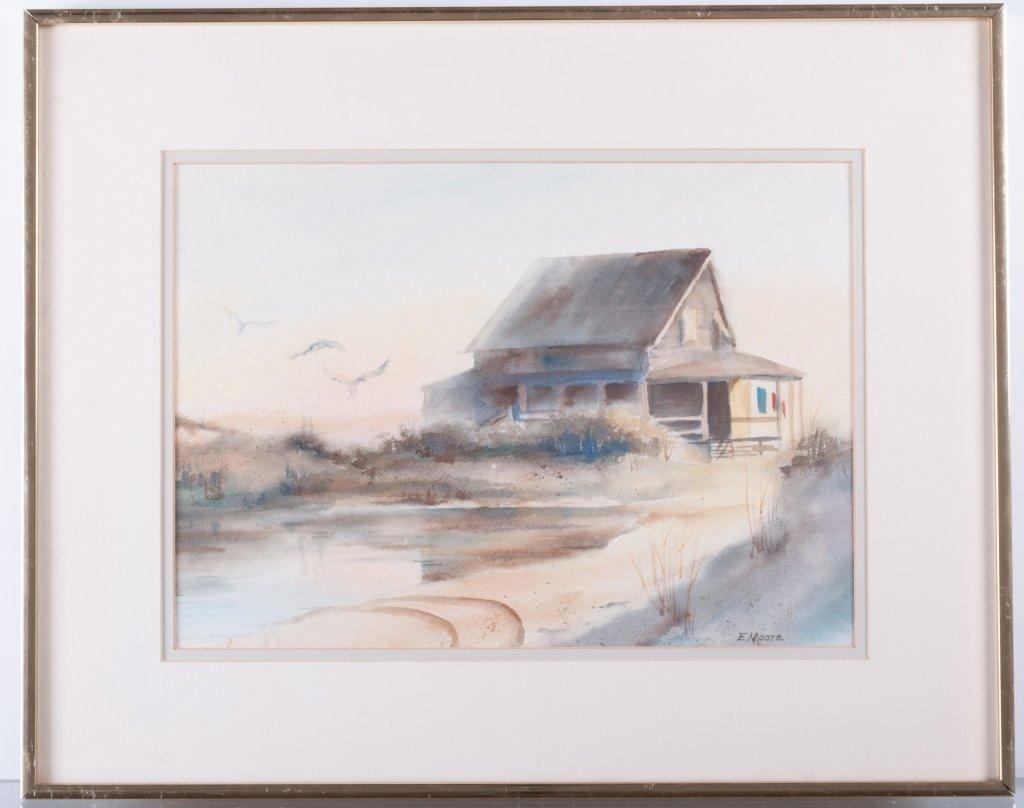 "Elizabeth Moore ""Last Night it Rained"" Watercolor"