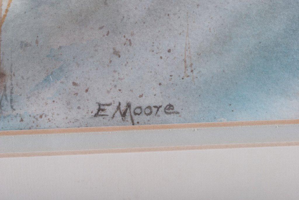 "Elizabeth Moore ""Last Night it Rained"" Watercolor - 3"