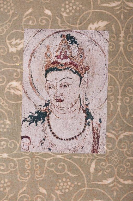 """Wall Paintings of the Horyuji Monastery"" Folio - 2"