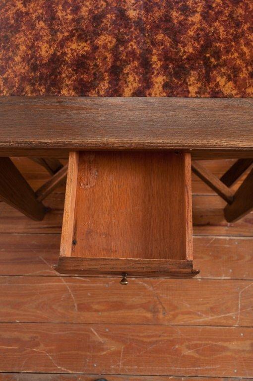 Romweber Viking Oak Game Table & Chair Set - 4