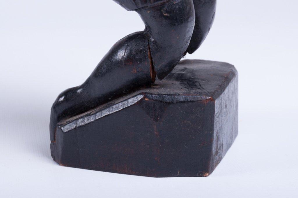 """Vivaldo Santos """"Negra Do Congo"""" Wood Carved Figure - 6"""