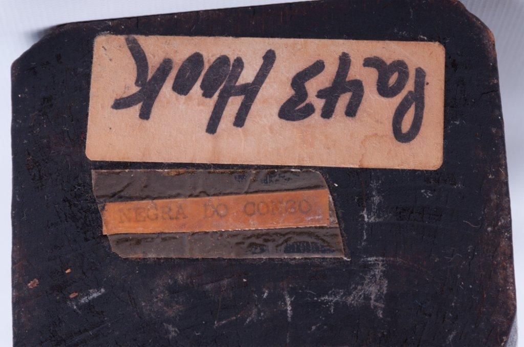 """Vivaldo Santos """"Negra Do Congo"""" Wood Carved Figure - 8"""