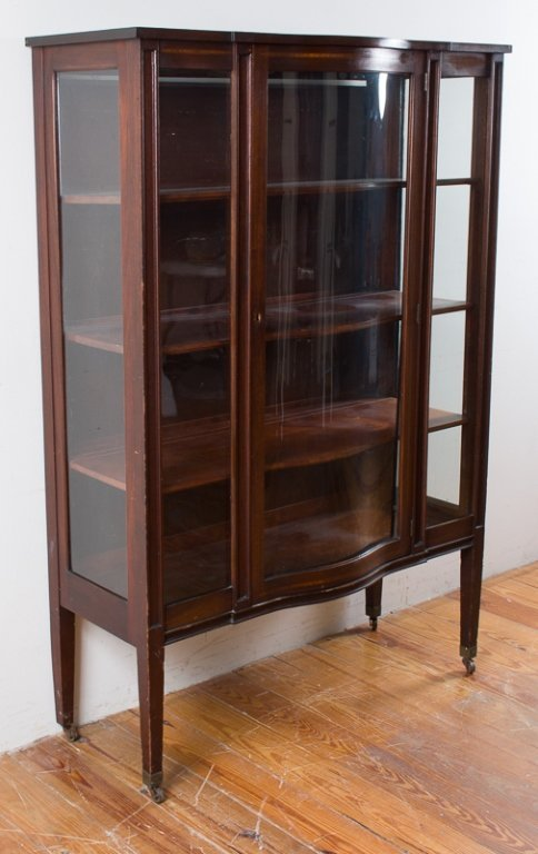 Federal Style Display Cabinet - 3