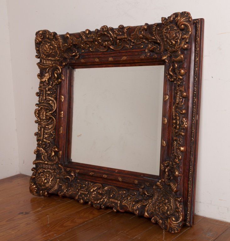 Ornate Gilded Mirror - 2