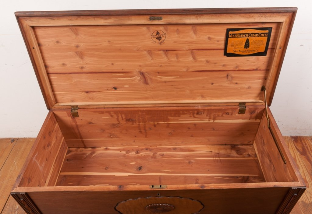 West Branch Novelty Company Cedar Chest - 4