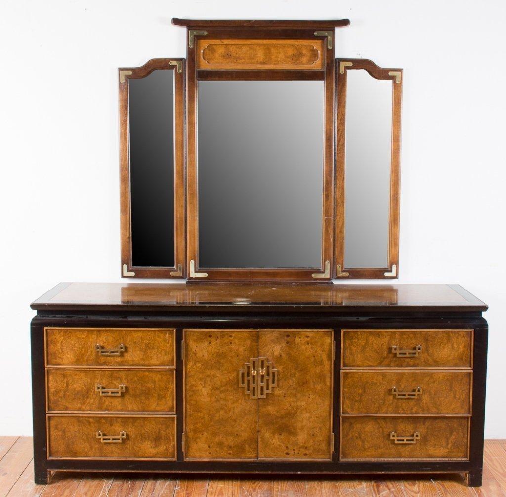 Century Furniture Asian Style Dresser w/ Mirror