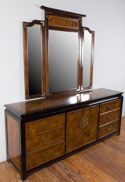 Century Furniture Asian Style Dresser w/ Mirror - 2