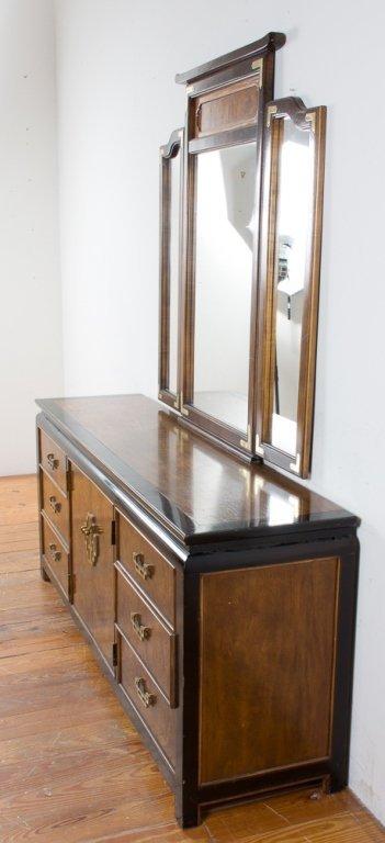 Century Furniture Asian Style Dresser w/ Mirror - 3