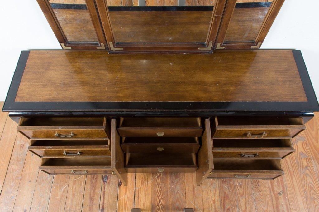Century Furniture Asian Style Dresser w/ Mirror - 4