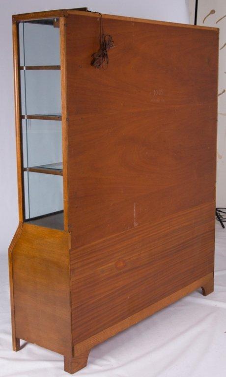 Romweber Oak China Cabinet - 8