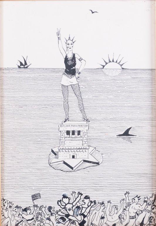 Andrzej Czeczot Ink on Paper