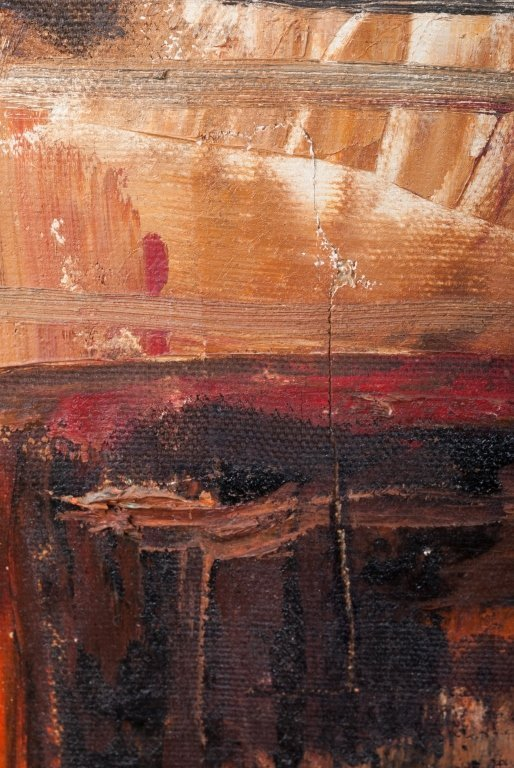View of Brooklyn Oil on Canvas - 5