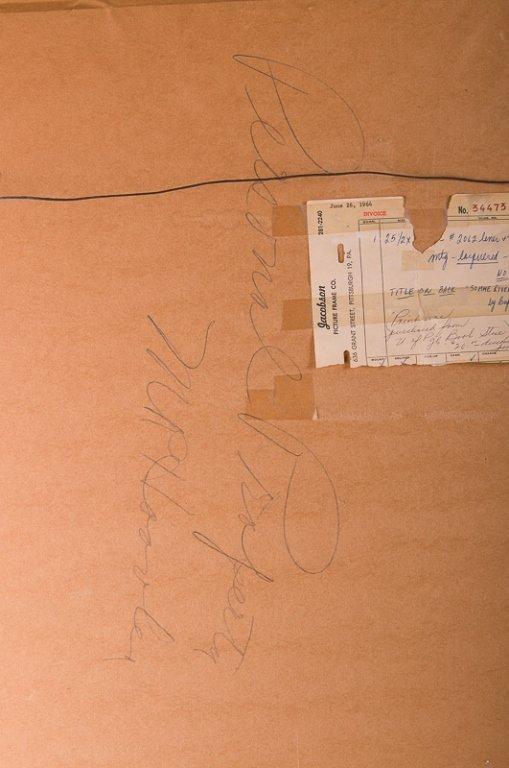"""Bernard Buffet """"Somme River Lock"""" Chromolithograph - 8"""