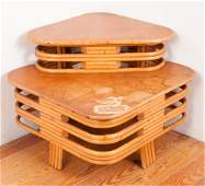 Tropical Sun Co. Paul Frankle Style Corner Table