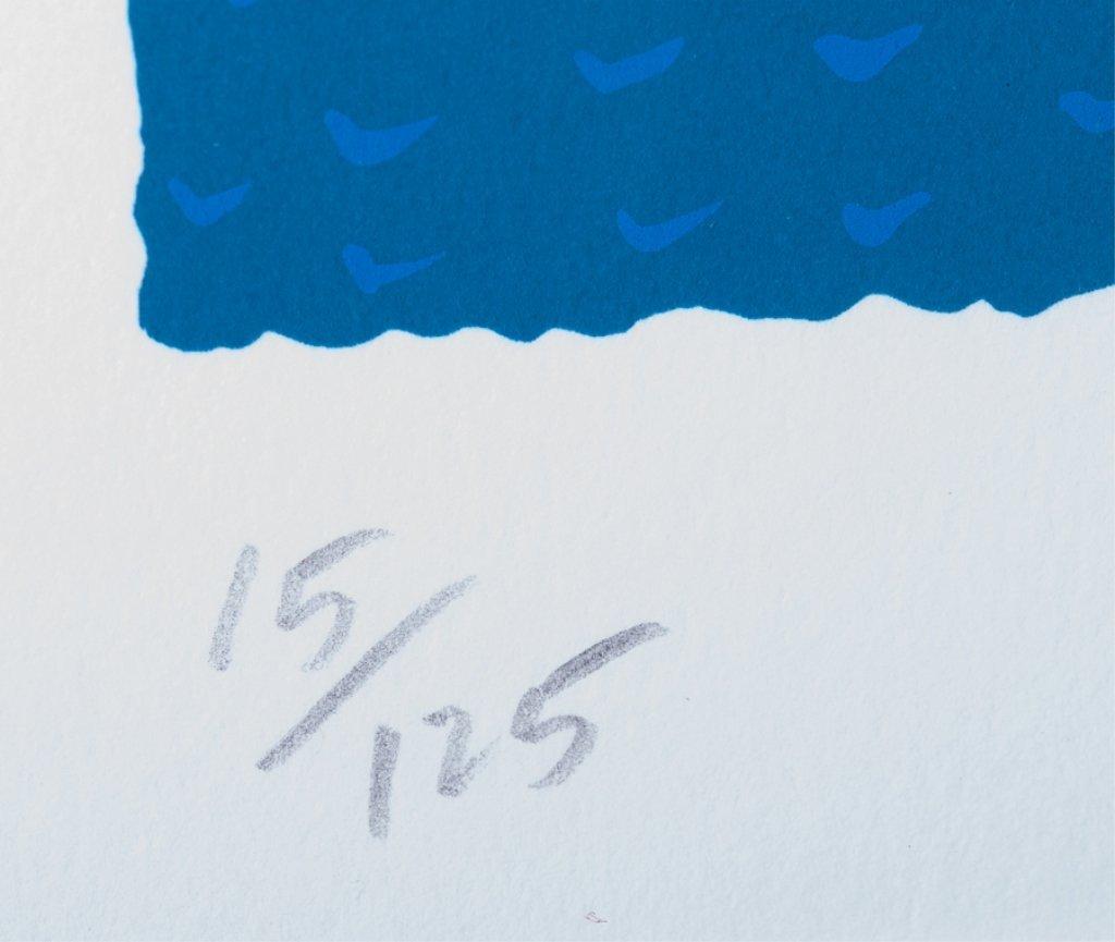 """Dennis Conner """"Flying High"""" #15/125 Serigraph - 3"""