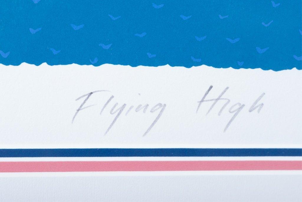 """Dennis Conner """"Flying High"""" #15/125 Serigraph - 4"""