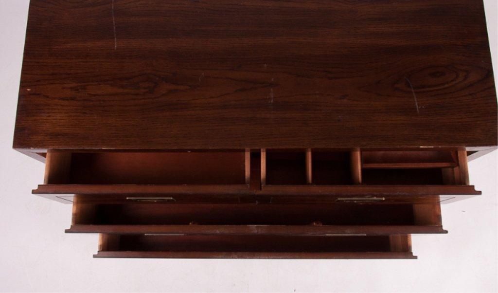 Henredon Oak Four Drawer Dresser - 5