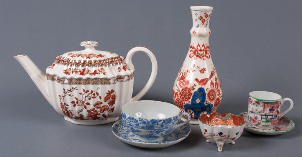 Delft, Copeland Spode & Other Porcelain Items