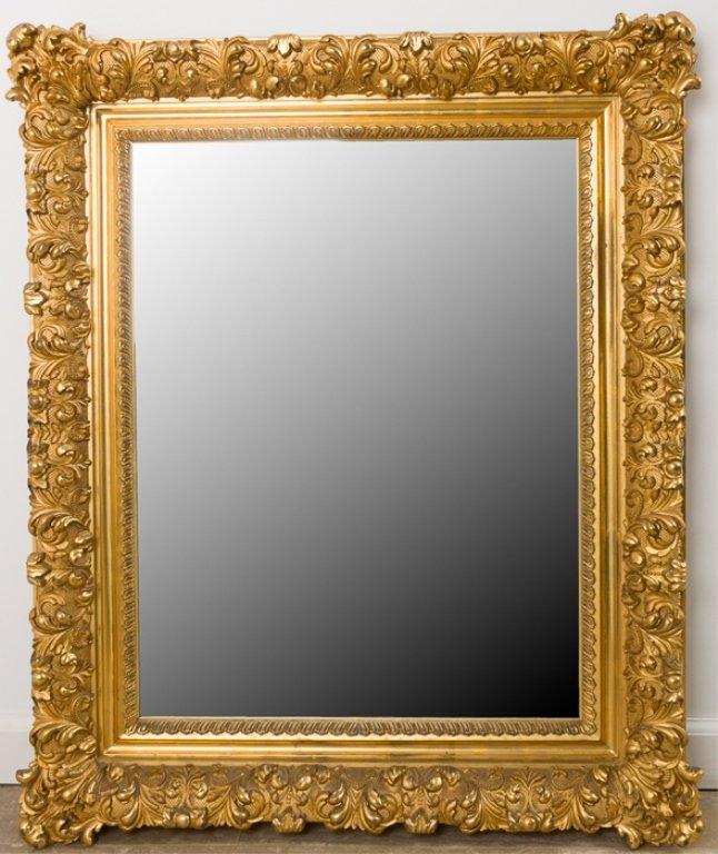 Baroque Style Wall Mirror