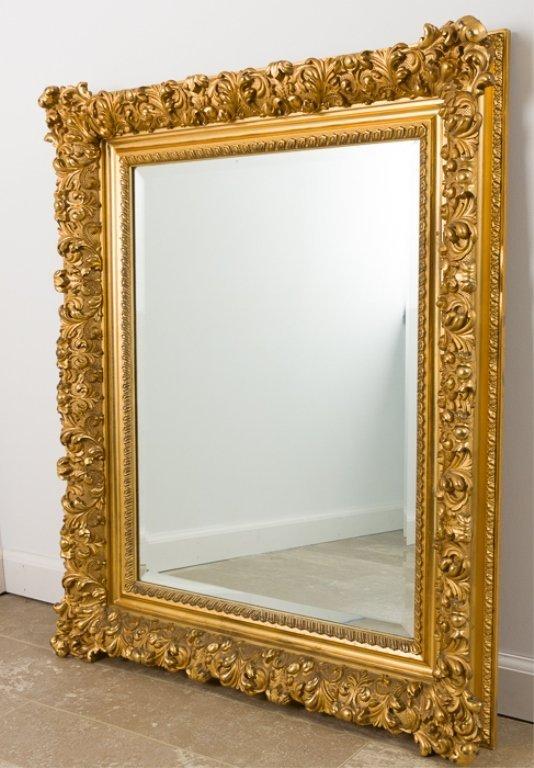 Baroque Style Wall Mirror - 2