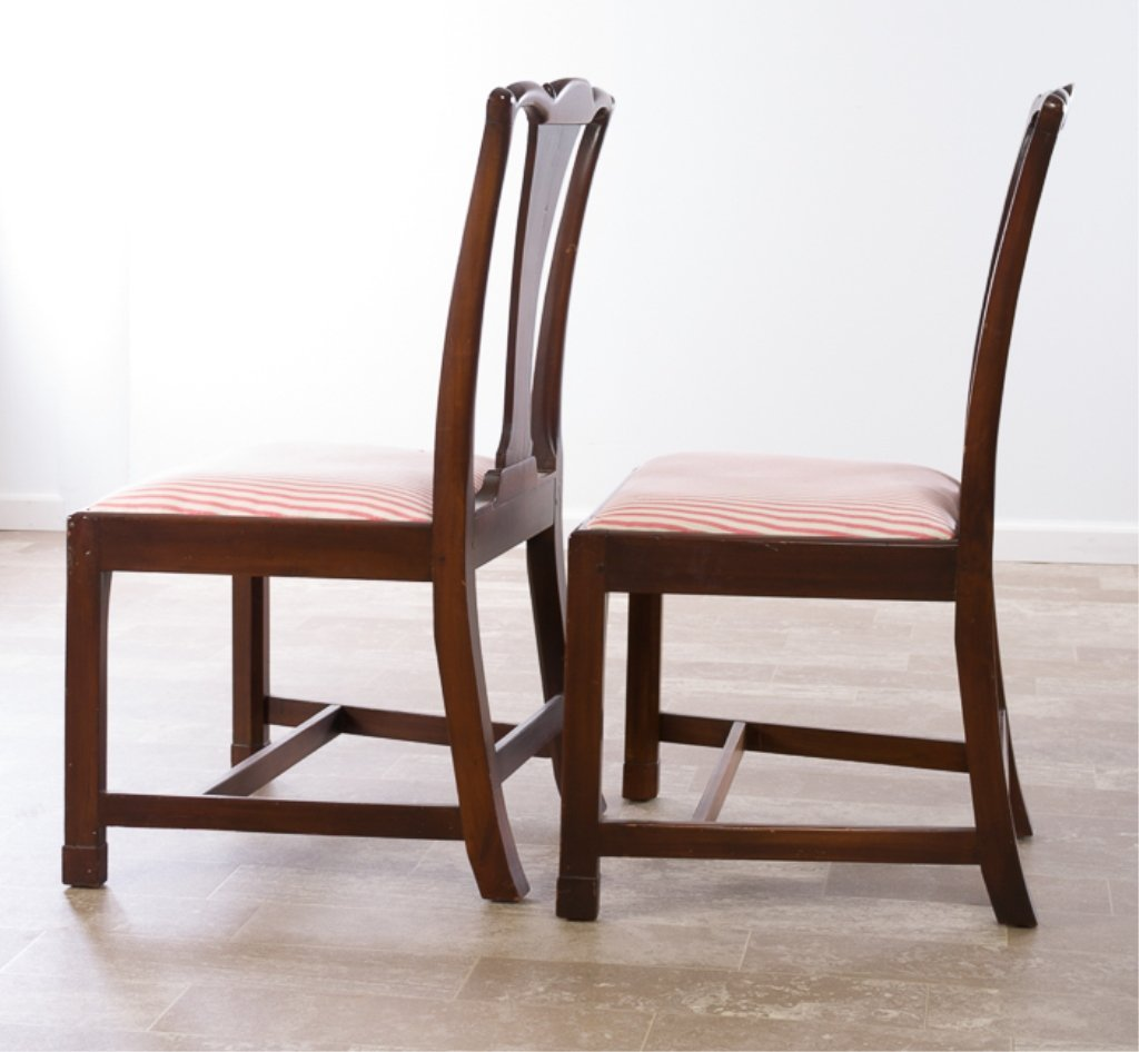 Petersburg School Chippendale Chairs, Circa 1790 - 10