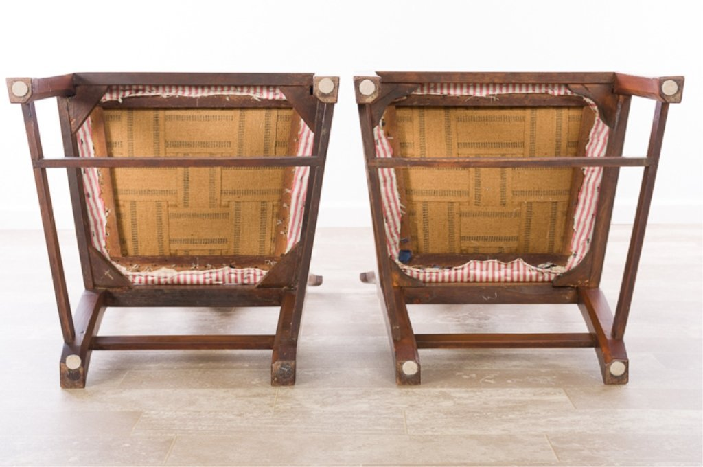 Petersburg School Chippendale Chairs, Circa 1790 - 2