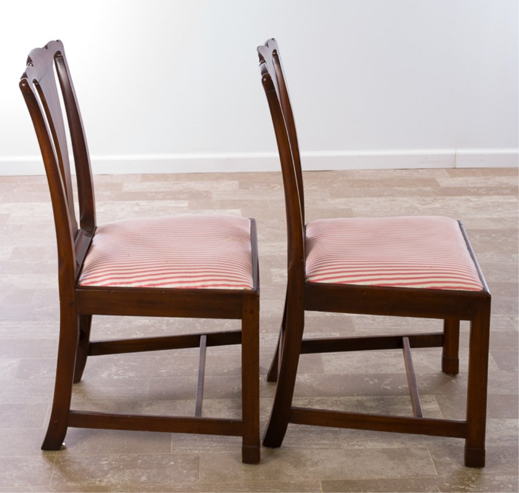 Petersburg School Chippendale Chairs, Circa 1790 - 6