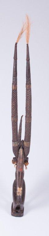 Chiwara Headdress from Bamana Tribe, Pair - 2