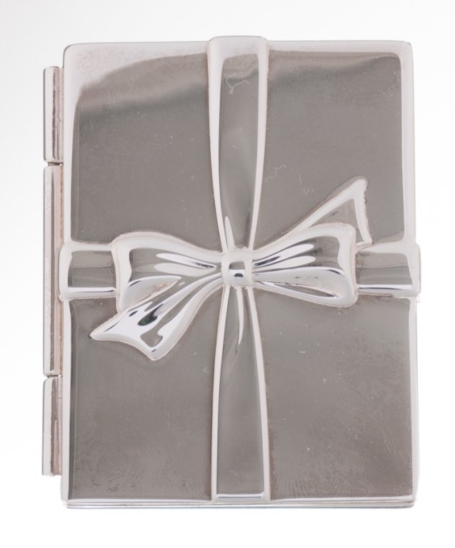 Tiffany Bows Double Folding Frame, Sterling Silver - 2
