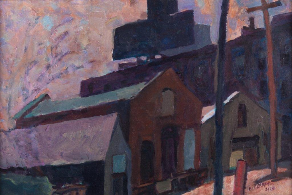 "Anthony A. Ferrara ""Fishtown Industrial"" Landscape"