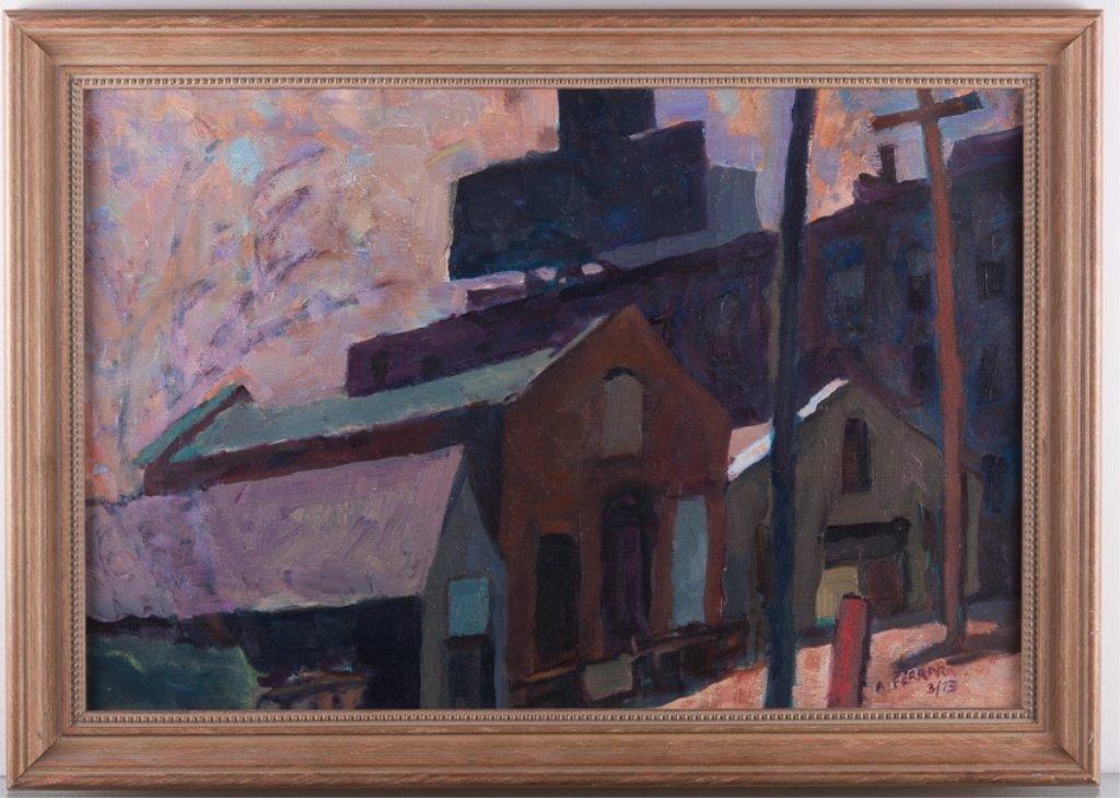 "Anthony A. Ferrara ""Fishtown Industrial"" Landscape - 2"