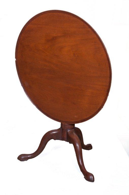Tilt Top Tea Table, Walnut,  Circa 1700s