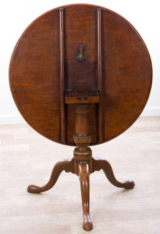 Tilt Top Tea Table, Walnut,  Circa 1700s - 3