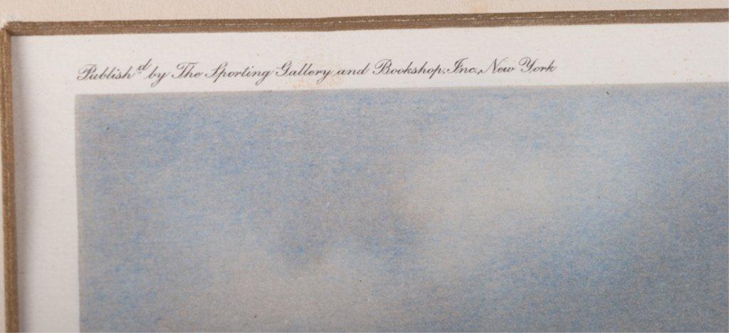 "F.B Voss ""Mr. Stewart's Cheshire Hounds"" Litho - 4"