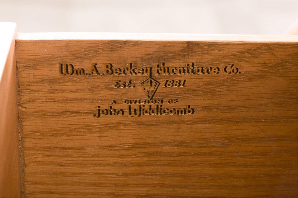 John Widdicomb Wm. Berkey Painted Bombe Chest - 5